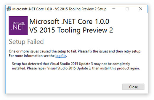 aspnet-core-update-2-failed-to-install