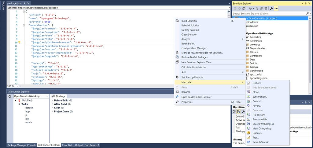 vs2015-hgsccpackage-screenshot