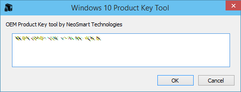 Come recuperare il codice Product Key di Windows 10 da BIOS / UEFI / Registro di Sistema