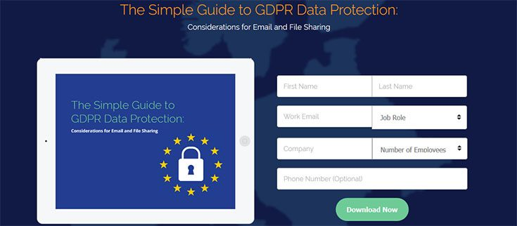 Virtru Simple Guide to GDPR Data Protection - Download Gratis