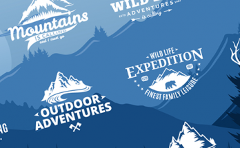 10 Great Outdoor Logos for Your Inspiration