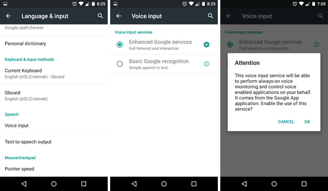 Android - Come Abilitare la modalità Speech-to-Text (Voice Input)