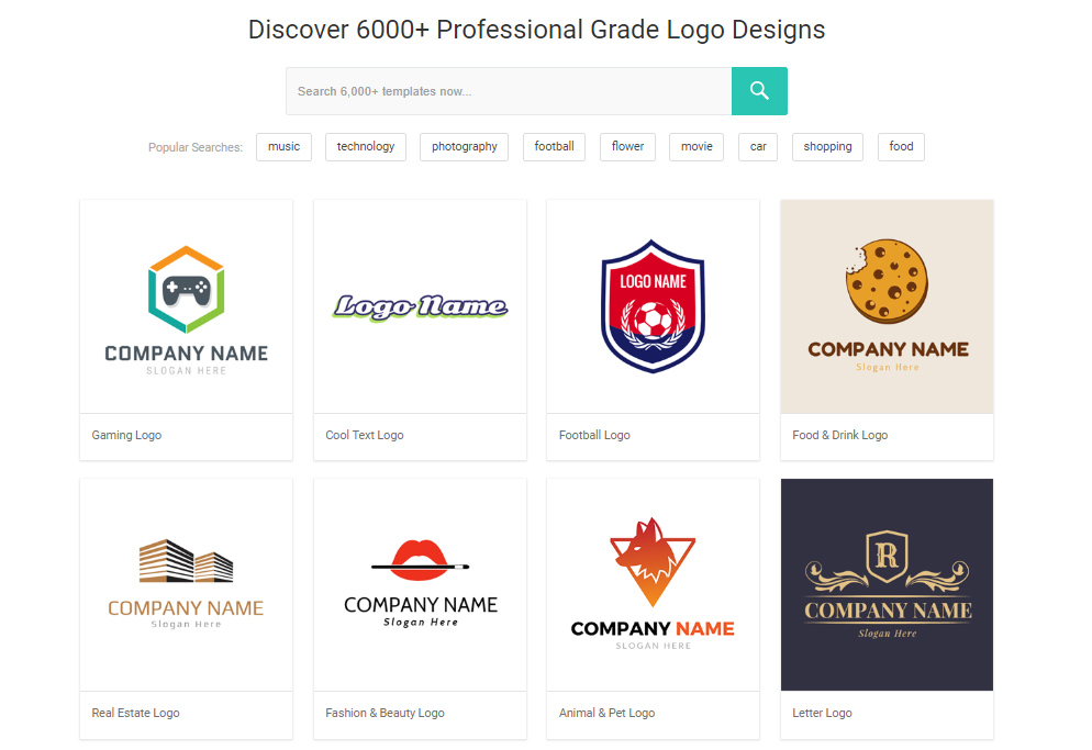 DesignEvo - A free Logo Maker service for those who can't draw