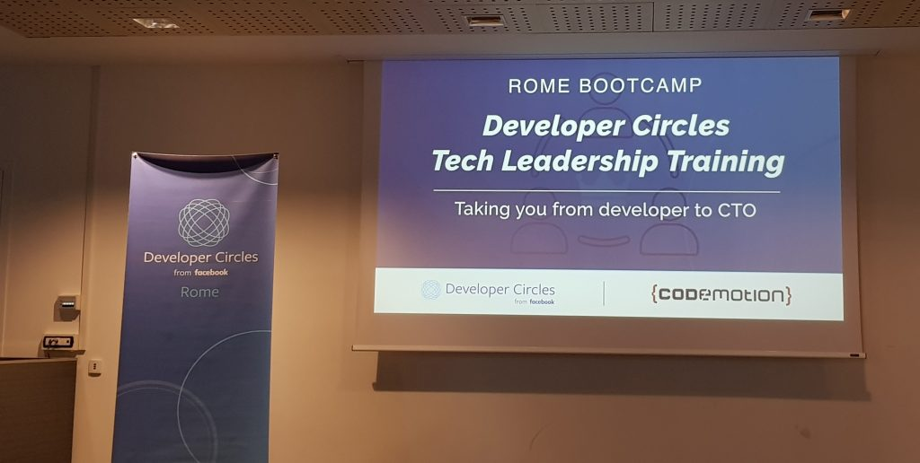 From Developer to CTO - Tech Leadership Training Bootcamp by Codemotion - Day 2
