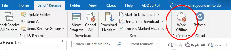 MS Outlook disconnesso, MS Exchange server non disponibile - cosa fare