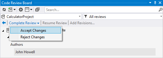 Review Assistant - Peer code review tool for Visual Studio