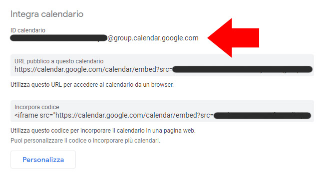 Sincronizzare i calendari Thunderbird e Google Calendar