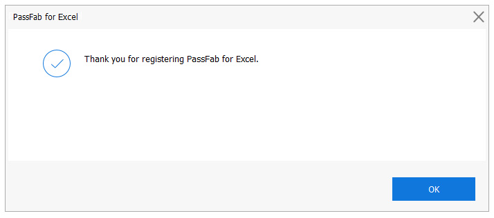 PassFab for Excel: remove password protection from MS Excel files